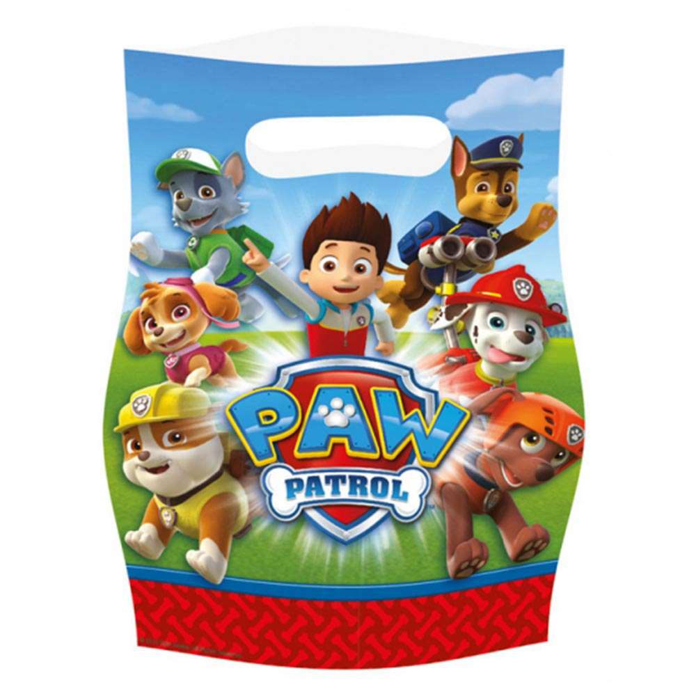 Paw patrol partybag