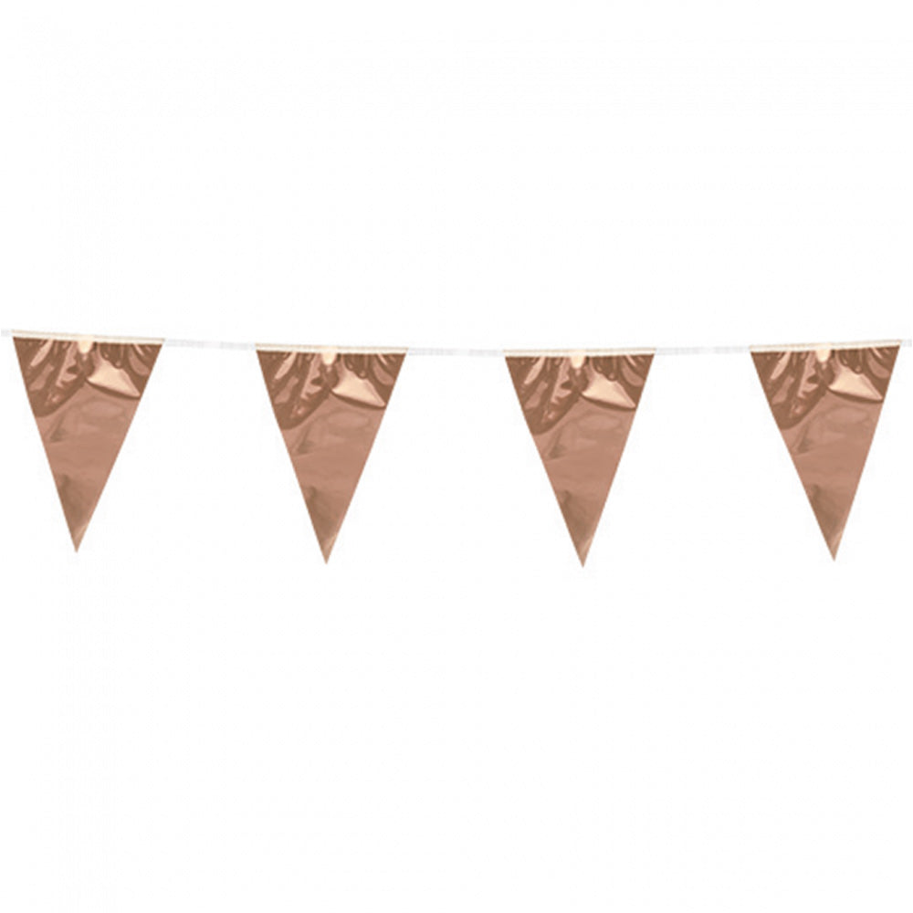 Mini rosegold flagbanner