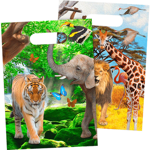 Safari partybags