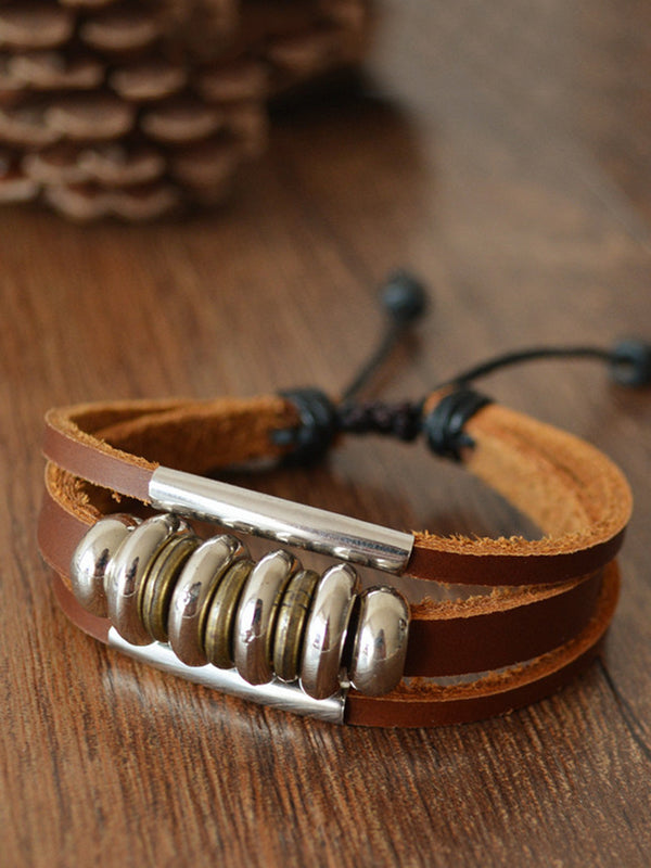 Fashion Leather Basic Bracelet