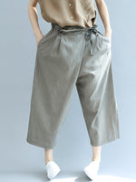 Gray Shift Casual Pants & Capri