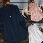 Blue Gathered Casual Shift Blouses & Shirt