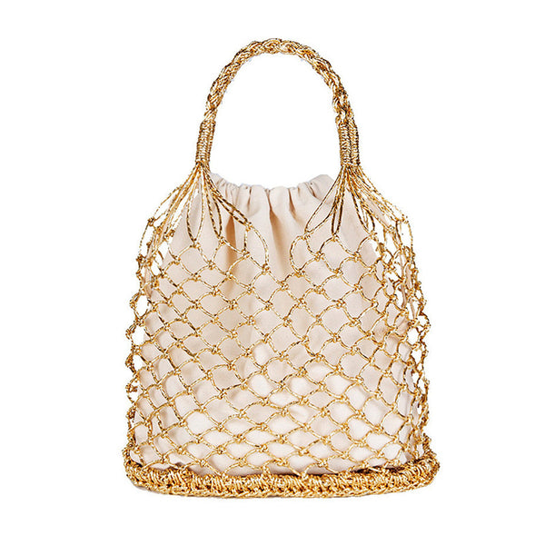 Women's Casual Beach Stylish Straw Tote Bags