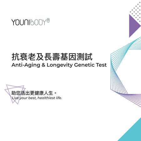 抗衰老及長壽基因測試 Anti-Aging & Longevity Genetic Test