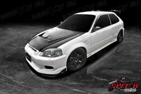 Civic EK 96-00 Bonnet Grille