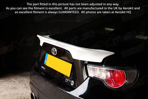 GT86 Wings Fenders Spoilers