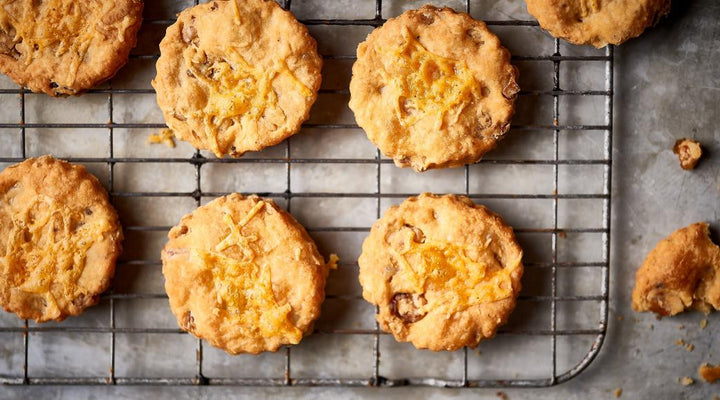 Cheddar and Walnut Biscuits