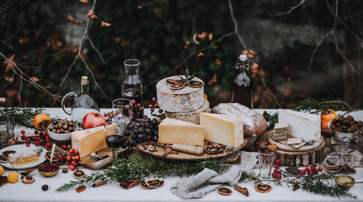 How to style a Christmas cheese spread