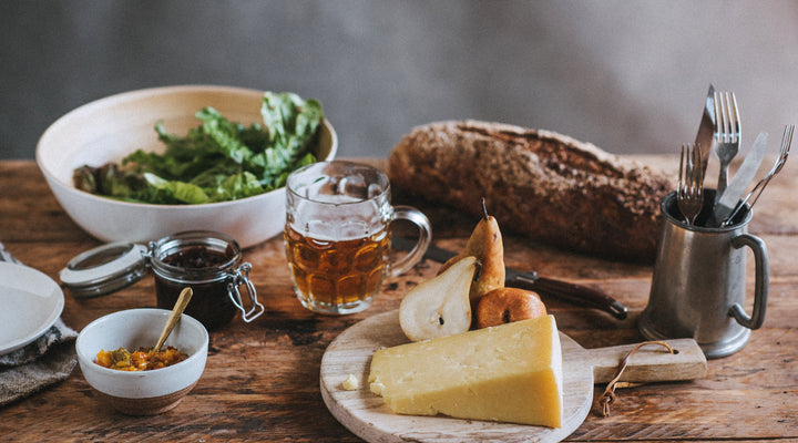 British beer & cheese pairing: a match made on home soil