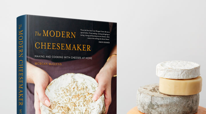 Win Morgan McGlynn's New Book on Cheesemaking