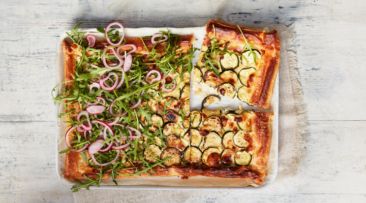 Courgette & Goat's Cheese Tart