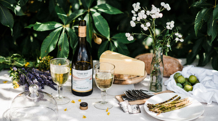 A summer wine & cheese pairing