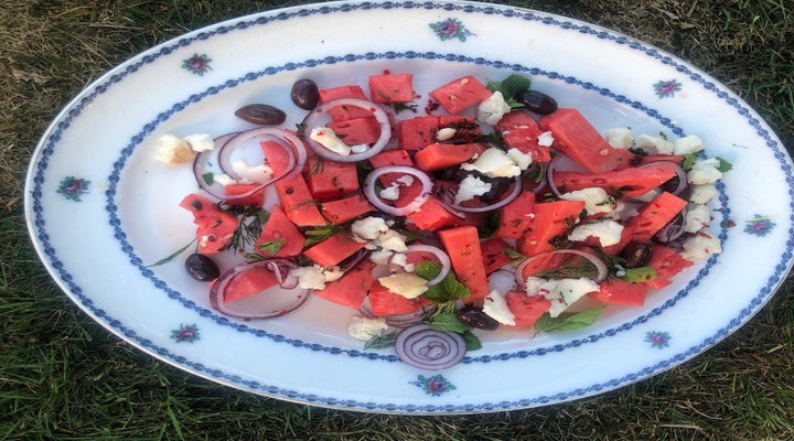 Goat's Cheese & Watermelon Summer Salad