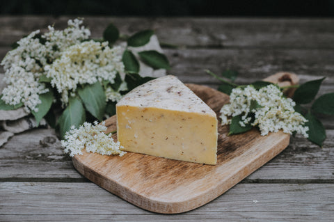 elderflower cheese quickes