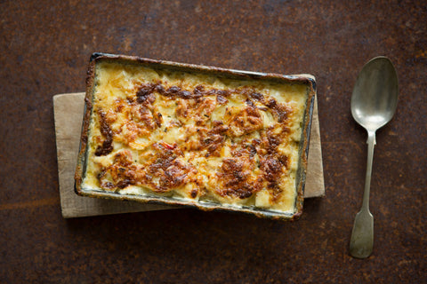 Dauphinois potato recipe by Quicke's