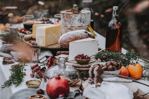 Christmas cheese styling