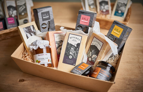 Quicke's Hamper Charity Gift