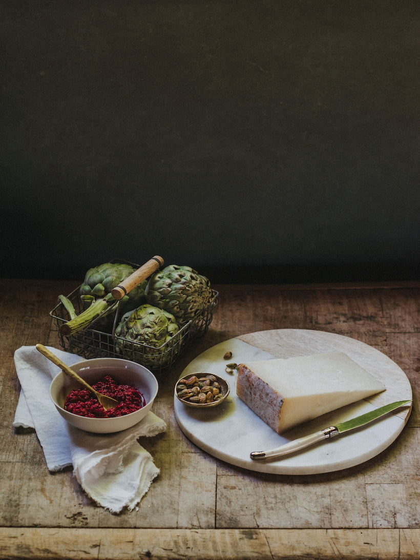 Oak Smoked Goat's Milk Clothbound Cheese
