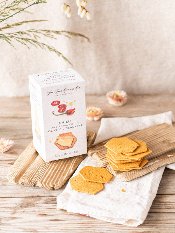 Fine Cheese Co. Chilli & Extra Virgin Olive Oil Crackers