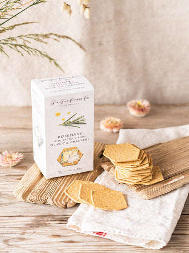 Fine Cheese Co Rosemary and Extra Virgin Olive Oil  Crackers
