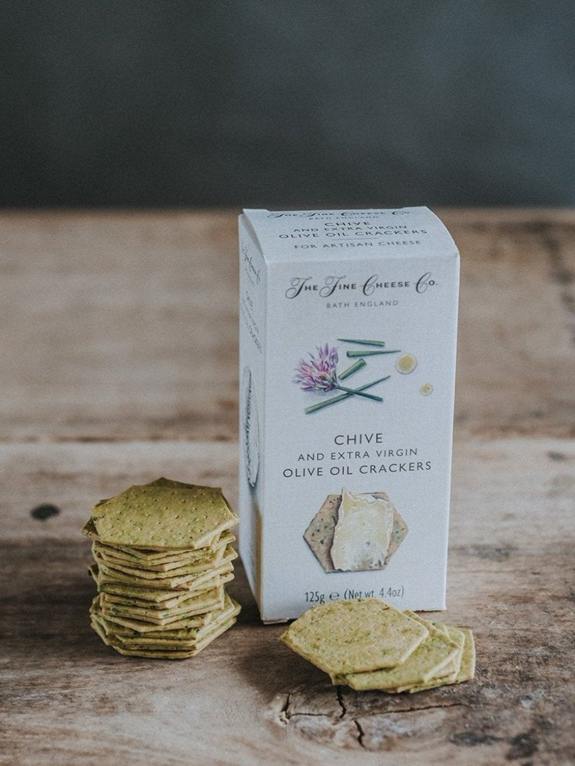Fine Cheese Co. Chive Crackers