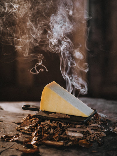 Oak Smoked Clothbound Cheddar