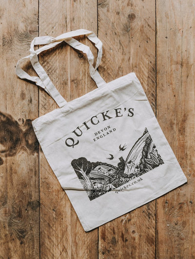 Quicke's Tote Bag