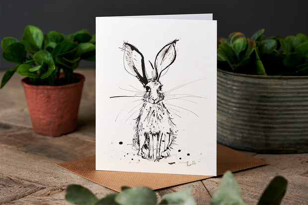 Sam Wilson Big Ears Greetings Card