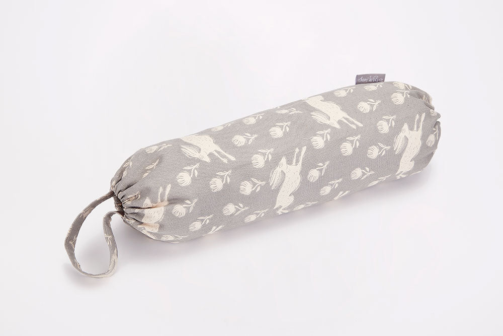 Sam Wilson Running Hare Grey Carrier Bag Holder
