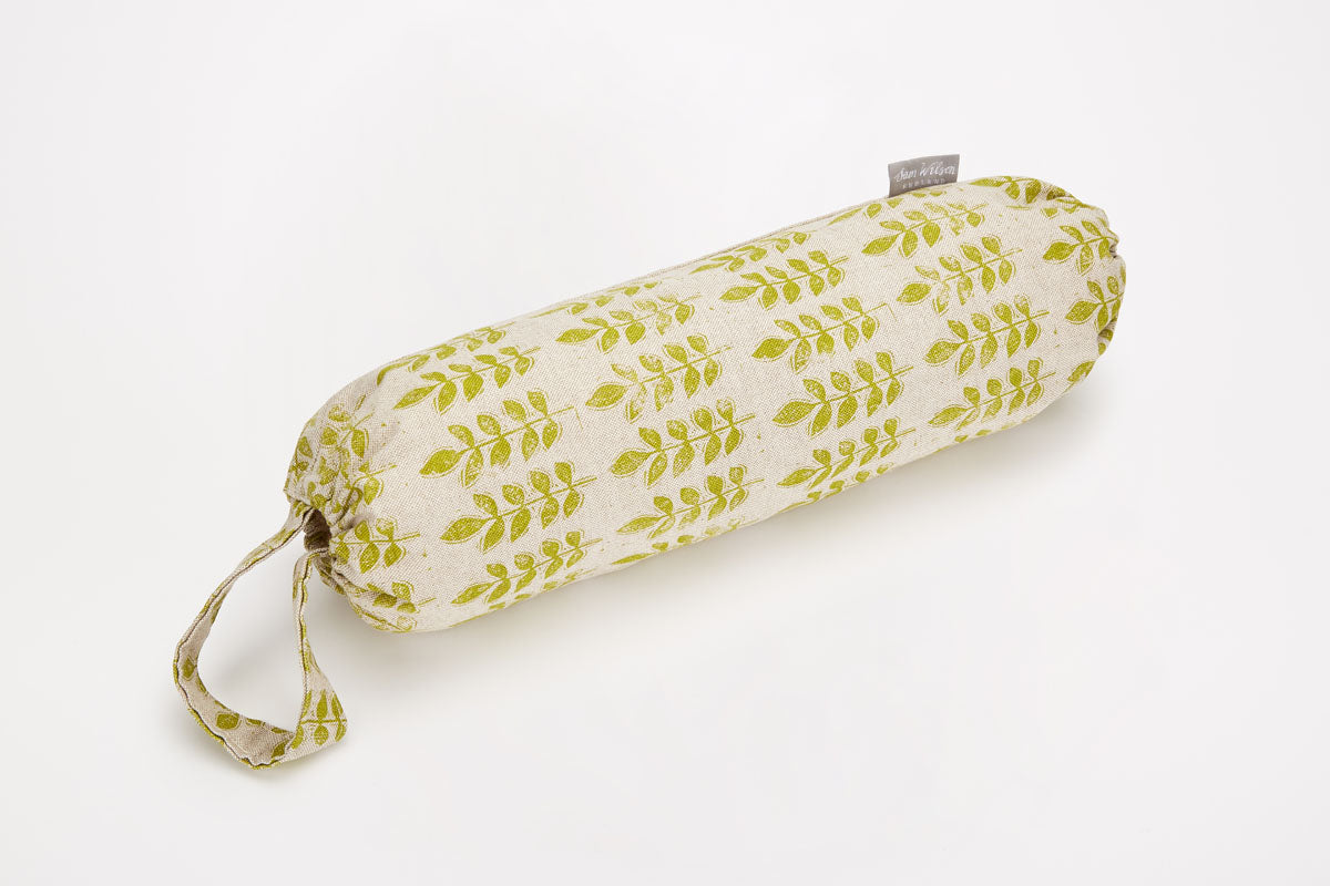 Sam Wilson Green Leaf Carrier Bag Holder