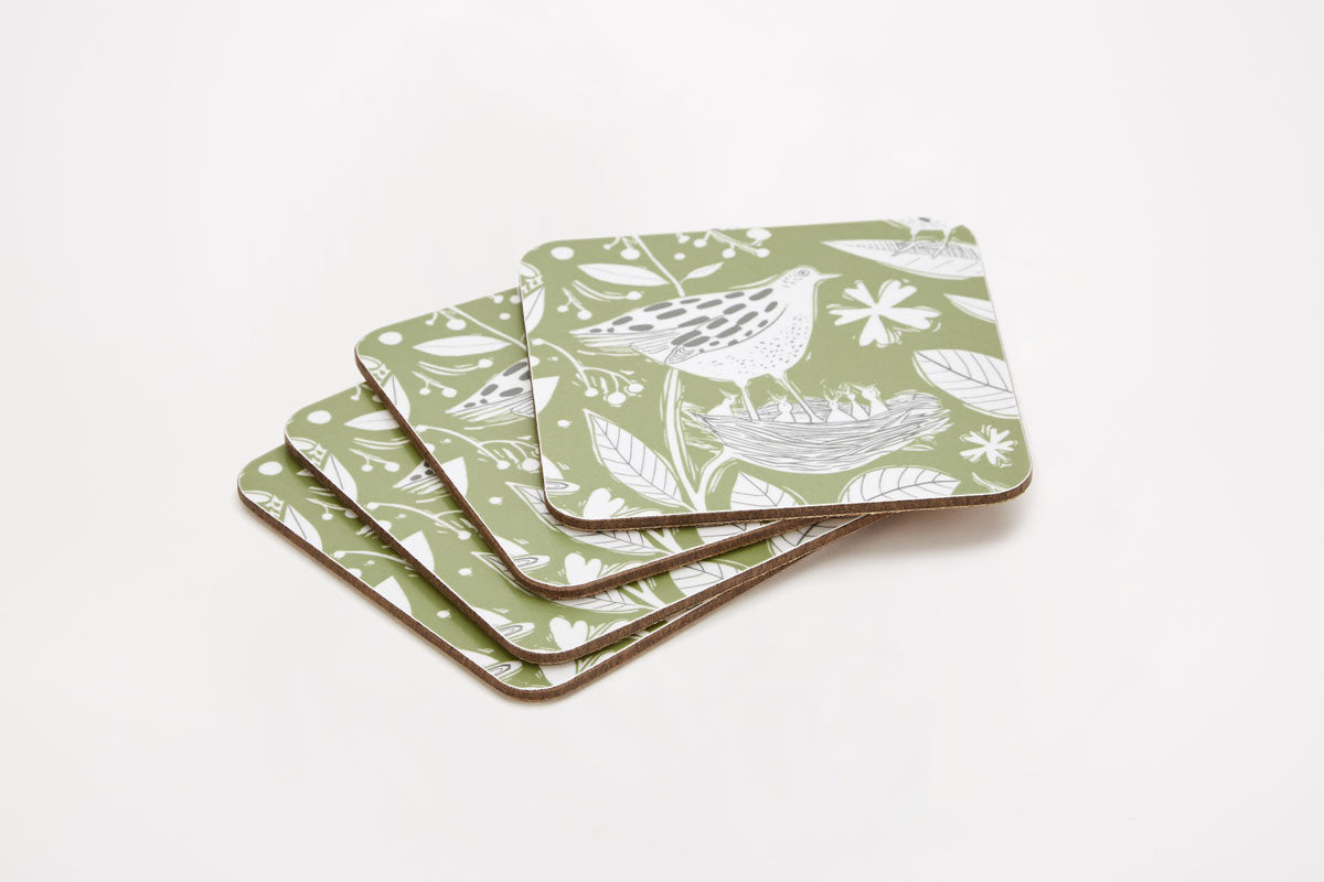 Hedgerow Coasters - Set of 4