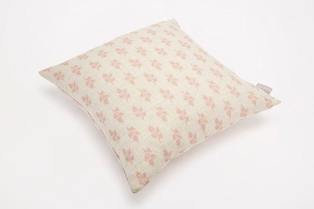 Sam Wilson NEW Pink Flora Square Linen Cushion