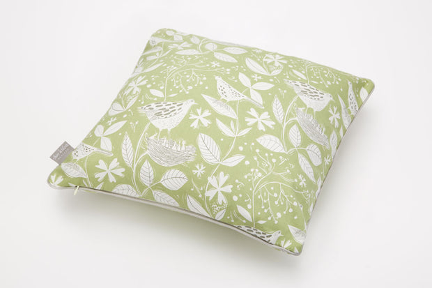 Hedgerow Cotton Piped Cushion