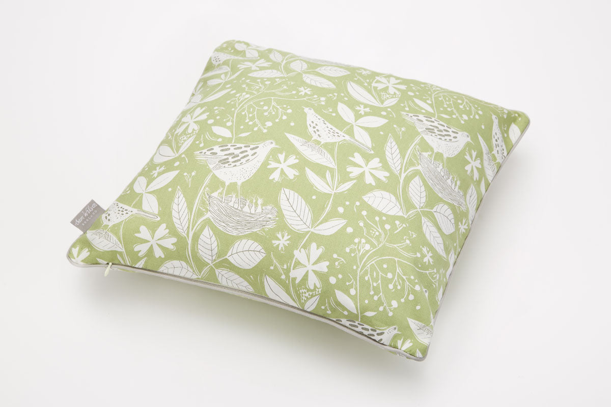 Sam Wilson Hedgerow Cotton Piped Cushion