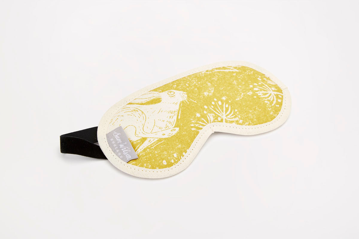 Sam Wilson Headlong Hare Eye Mask