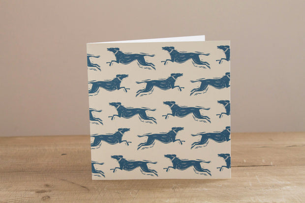 Fast Dog Greetings Card