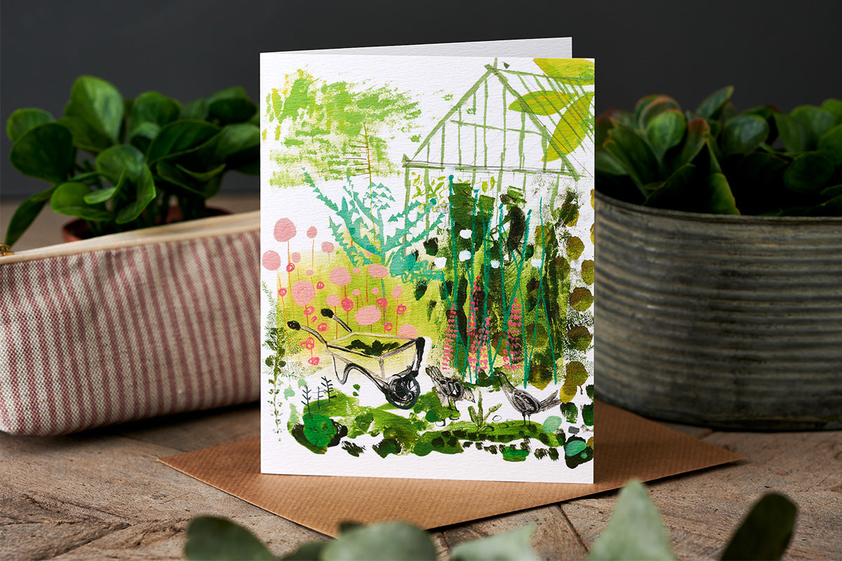 Sam Wilson The Greenhouse  Greetings Card