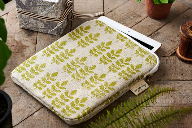 Sam Wilson Green Leaf Ipad Cover