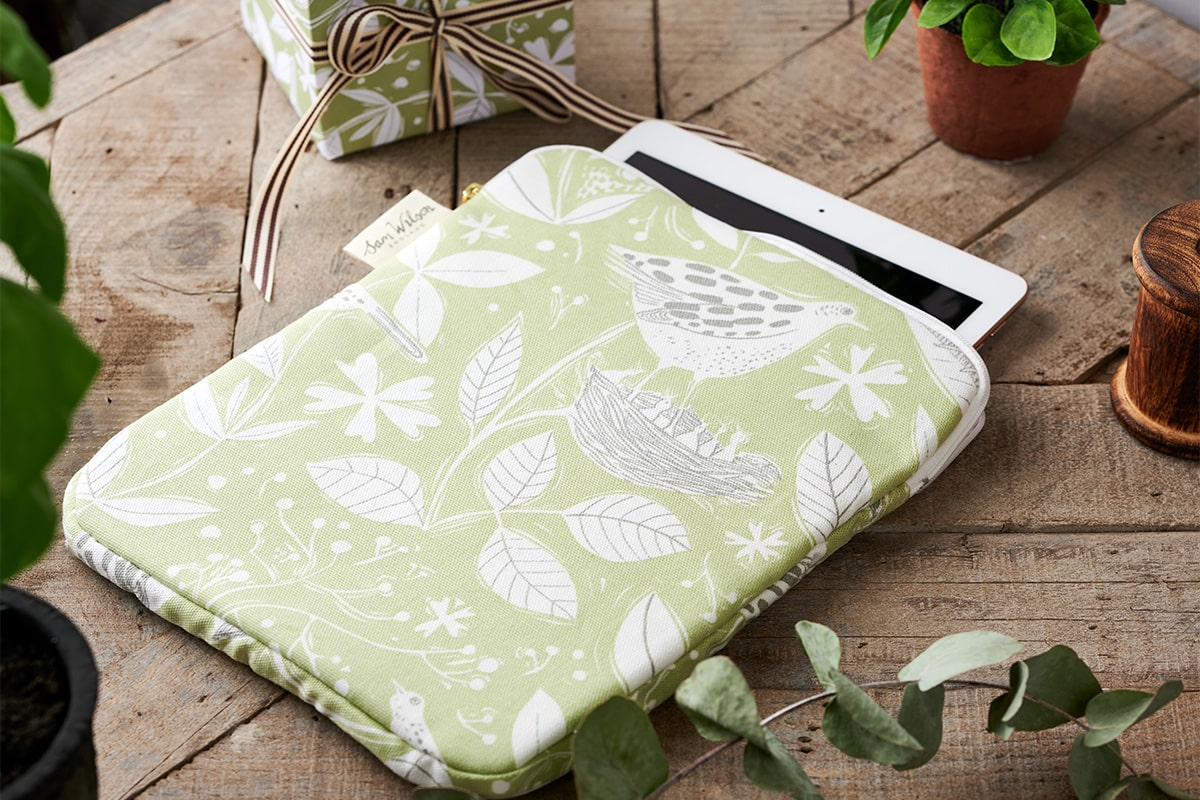 Sam Wilson Hedgerow Ipad Cover