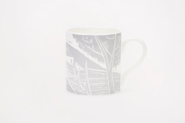 Sam Wilson Owl and Fox Landscape Mug