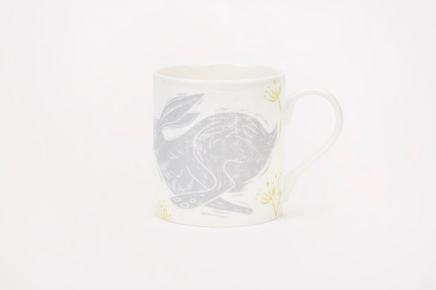 Sam Wilson Headlong Hare Large Pattern Mug