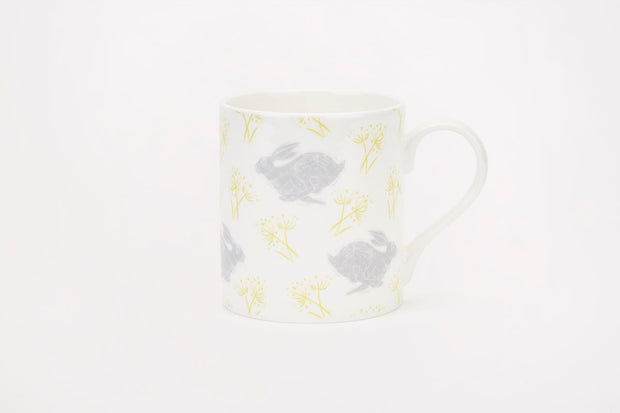 Sam Wilson Headlong Hare Medium Pattern Mug
