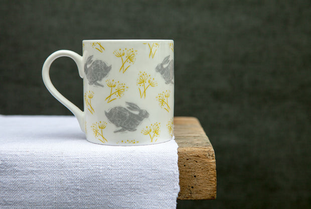 Headlong Hare Medium Pattern Mug