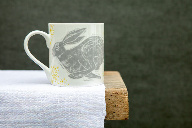 Headlong Hare Large Pattern Mug