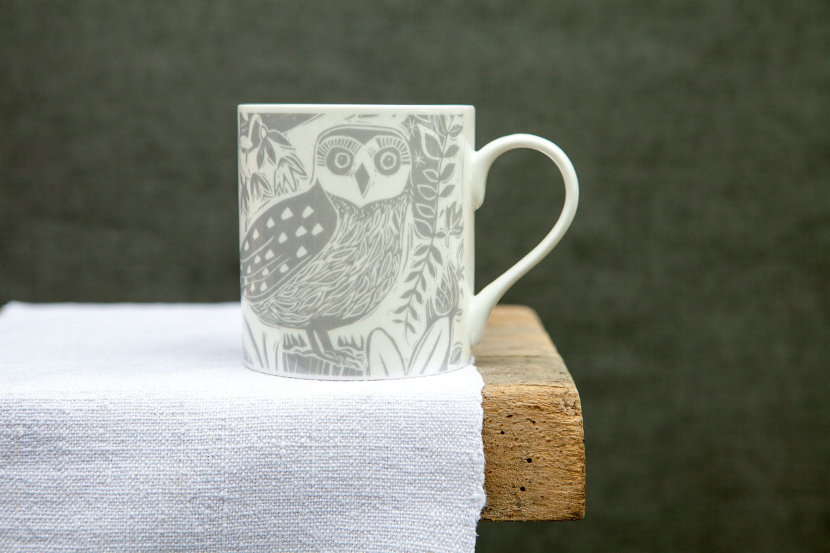 Sam Wilson Owl and Fox Mug