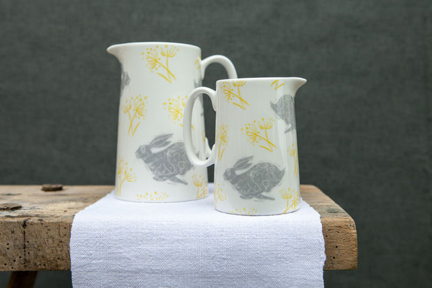 Headlong Hare Jugs