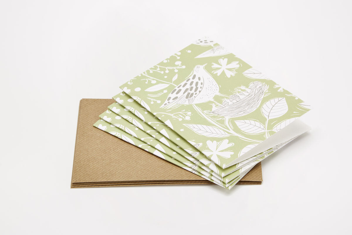 Sam Wilson Hedgerow Notecard Set