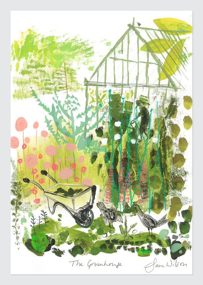 Sam Wilson The Greenhouse Print