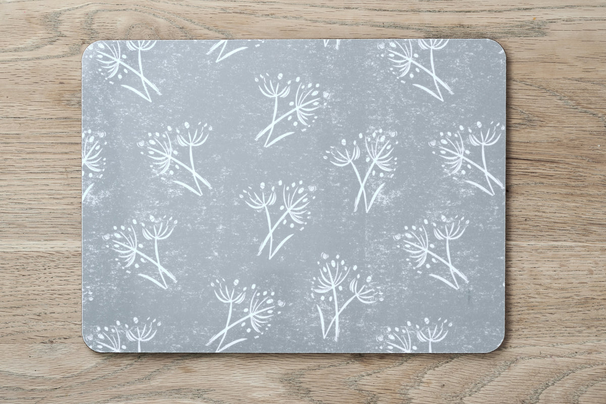Sam Wilson Parsley Seed Grey Placemat