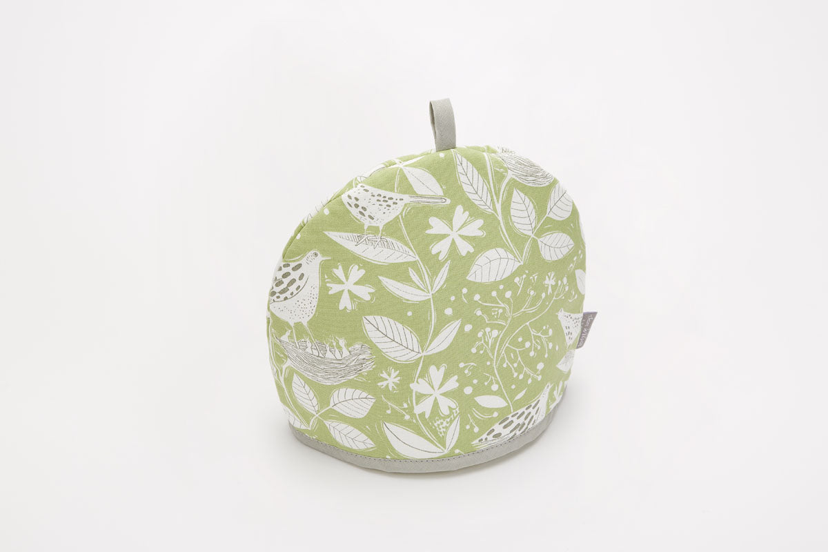 Sam Wilson Hedgerow Green Cotton Tea Cosy